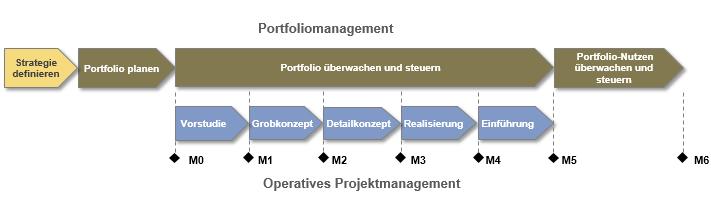 Portfoliomanagement-Prozess im Kontext der Projektabwicklung