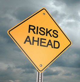 Risk ahead