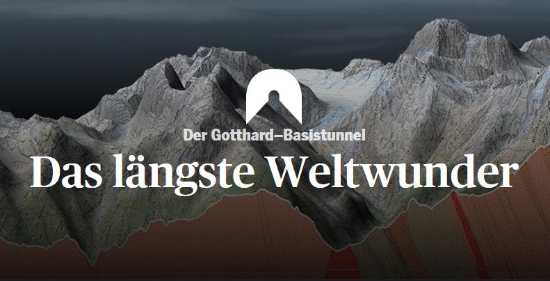 Gotthard Tunnel Das längeste Weltwunder