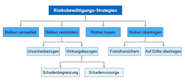 Risiko-Bewältigungsstrategien bei der Massnahmenplanung