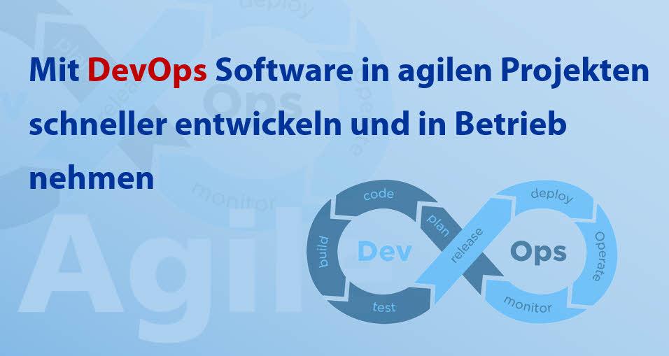 Mit DevOps Software schneller entwickeln und in Betrieb nehmen
