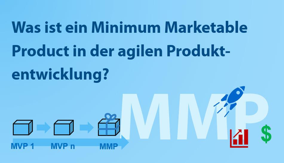 Minimum Marketable Product MMP in der agilen Produktentwicklung
